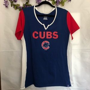 MAJESTIC CUBS STUDDED JERSEY.